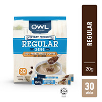 Owl 3 in 1 Instant Coffee - Regular