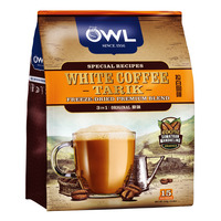 Owl 3 in 1 Instant White Coffee Tarik - Original