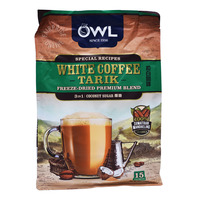 Owl 3 in 1 Instant White Coffee Tarik - Coconut Sugar
