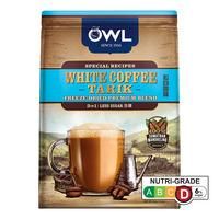 Owl 3 in 1 Instant White Coffee Tarik - Less Sugar