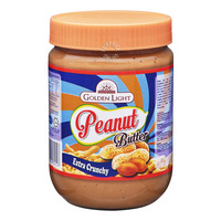 Golden Light Peanut Butter Spread - Extra Crunchy