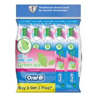 Oral-B Ultra Thin Toothbrush - Green Tea (Gum Care)