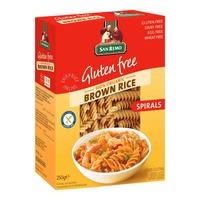 San Remo Organic Brown Rice Pasta - Spirals