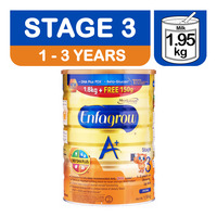 Enfagrow A+ with 360-degree DHA PLUS Stage 3 (1.8kg + FREE 150g worth $7)