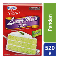 Dr Oetker Nona Luxury Moist Cake Mix - Pandan