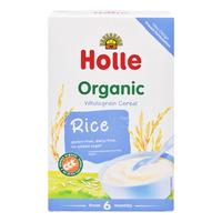 Holle Organic Baby Wholegrain Porridge Cereal - Rice