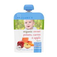 Bellamy's Organic Ready to Eat Baby Food - SweetPotatoCarrotApple