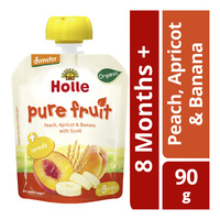 Holle Organic Baby Fruit Puree - Peach, Apricot & Banana