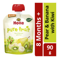 Holle Organic Baby Fruit Puree - Pear & Banana with Kiwi