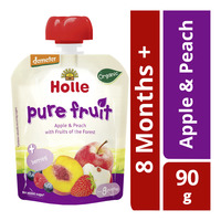 Holle Organic Baby Fruit Puree - Apple & Peach