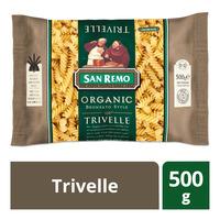San Remo Organic Pasta - Trivelle