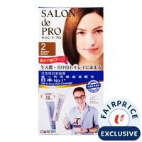 Salon de Pro Cream Hair Colour - 2 Brighter Brown
