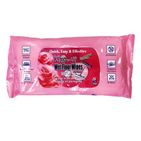 Kleen-Up Wet Floor Wipes - Rose Elegance