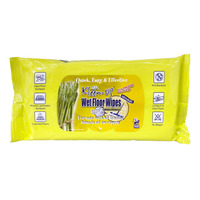 Kleen-Up Wet Floor Wipes - Calming Lemongrass