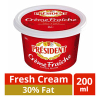 President Fresh Cream - 30% Fat