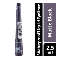 Silkygirl Perfect Matte Waterproof Liquid Eyeliner - Matte Black