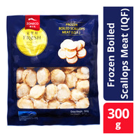 Zoneco Fresh Selects Frozen Boiled Scallops Meat (IQF)