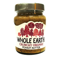 Whole Earth Organic Peanut Butter - Crunchy