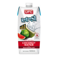 UFC Refresh Coconut Water Packet Drink - Watermelon