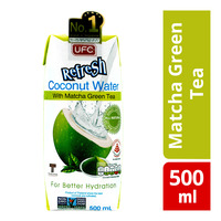 UFC Refresh Coconut Water Packet Drink - Matcha Green Tea
