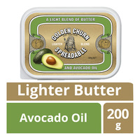 Golden Churn Spreadable Lighter Butter - Avocado Oil