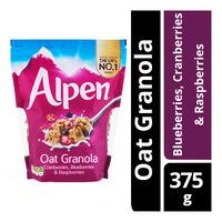 Alpen Oat Granola - Blueberries, Cranberries & Raspberries