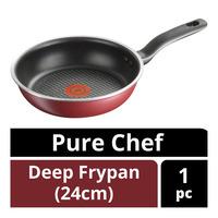 Tefal Pure Chef Deep Frypan - 24cm
