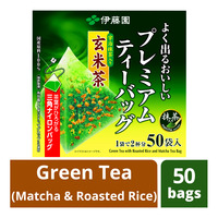 Ito En Premium Tea Bags - Green Tea (Matcha & Roasted Rice)