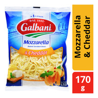 Galbani Shredded Cheese - Mozzarella & Cheddar