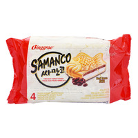 Binggrae Samanco Ice Cream Sandwich - Red Bean