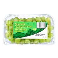 Uvas Verdes Spanish Green Seedless Grapes