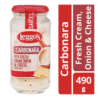 Leggo's Pasta Sauce - Carbonara (Fresh Cream, Onion & Cheese)