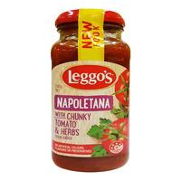 Leggo's Pasta Sauce - Napoletana (Chunky Tomato & Herbs)