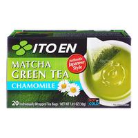 Ito En Matcha Green Tea Bags - Chamomile