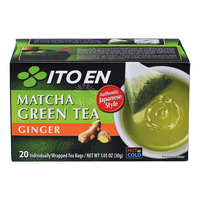 Ito En Matcha Green Tea Bags - Ginger