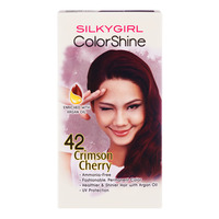 Silkygirl ColorShine Hair Colour - 42 Crimson Cherry