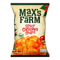Max's Farm Cassava Chips - Spicy