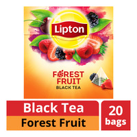 Lipton Pyramids Black Tea Bags - Forest Fruit