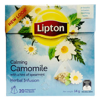 Lipton Pyramids Infusion Tea Bags - Calming Chamomile