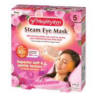 Megrhythm Steam Eye Mask - Fresh Rose Scent
