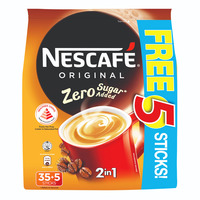 Nescafe 2 in 1 Instant Coffee - Original (ZeroSugar)