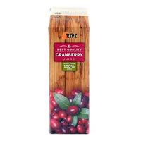 Ripe 100% Fruit Juice - Cranberry