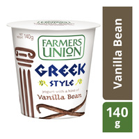 Farmers Union Greek Style Yoghurt - Vanilla Bean
