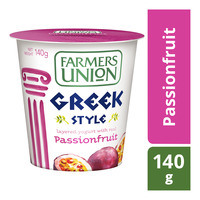Farmers Union Greek Style Yoghurt - Passionfruit