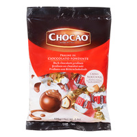 Vergani Chocao Chocolate Pralines - Dark (Hazelnut)
