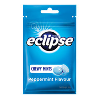 Wrigley's Eclipse Chewy Mints Candy - Peppermint