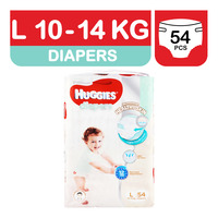 Huggies Platinum Diapers - L (10 - 14kg)