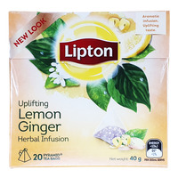Lipton Pyramids Infusion Tea Bags - Lemon Ginger