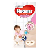 Huggies Platinum Girl Pants - M (8 - 12kg) 44S
