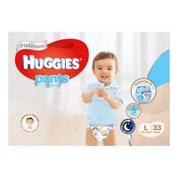 Huggies Platinum Boy Pants - L (10 - 14kg)